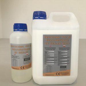 DecoCemic PTC 51 microcement 2K Sealer Matt-dwuskładnikowy lakier poliuretanowy do mikrocementu matowy