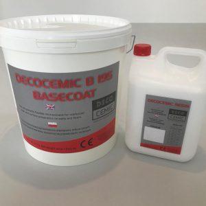 DecoCemic microcement B 195 Basecoat-mikrocement wyrównawczy do warstwy zbrojonej siatką 1